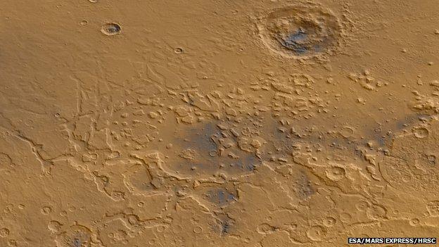 Fretted terrain