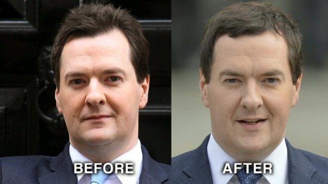 George Osborne's hairstyles