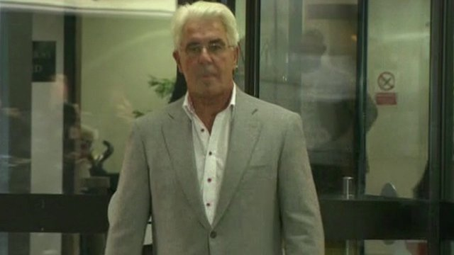Max Clifford leaves Southwark Crown Court