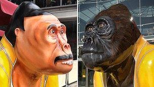 """Freddie """"Radio Go Go"""" Gorilla"""