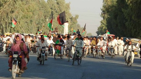 Celebrations in Kandahar