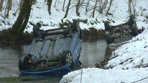 River Wye crash