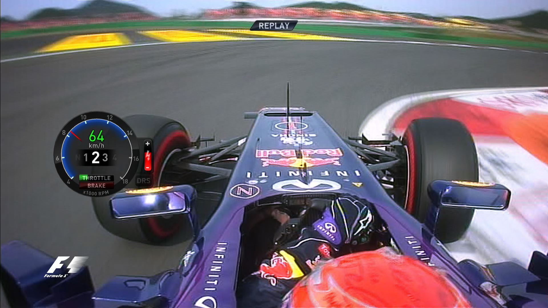 Sebastian Vettel's Korean Grand Prix pole lap