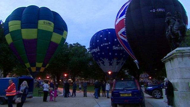 The Queen's Cup Balloon Race 2013