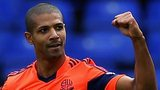 Bolton striker Jermaine Beckford