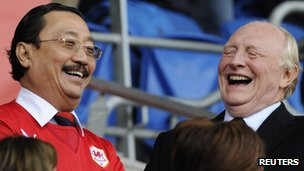Vincent Tan & Neil Kinnock