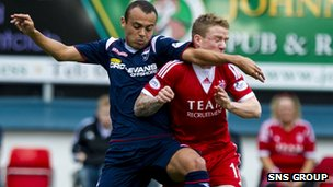 Ross County and Aberdeen