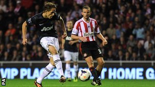 Adnan Januzaj scores Man Utd's equaliser