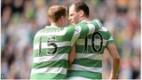 Kris Commons and Anthony Stokes were on target for Celtic against Motherwell