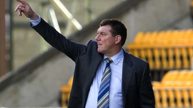 St Johnstone boss Tommy Wright