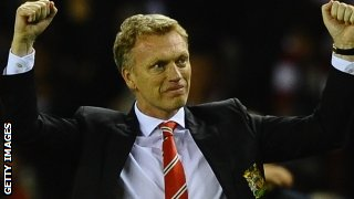 Manchester United manager David Moyes