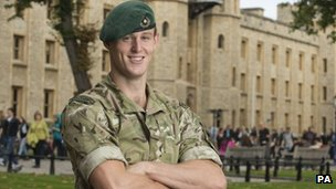 Capt Owen Davis was awarded the Conspicuous Gallantry Cross in the latest Operational Honours list