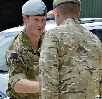 Prince Harry in Perth on 6 September 2013