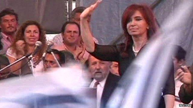 Cristina Fernandez de Kirchner takes a month off work