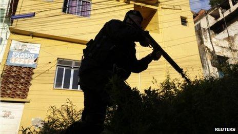 Police operation in Rio de Janeiro