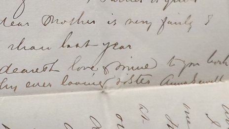 Anna Sewell collection of letters