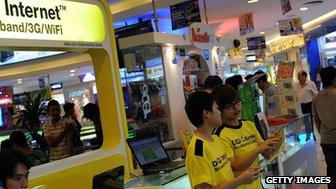 Malaysia mobile phone shop