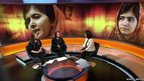 Holly and Lauren join Mishal Hussain on BBC World News