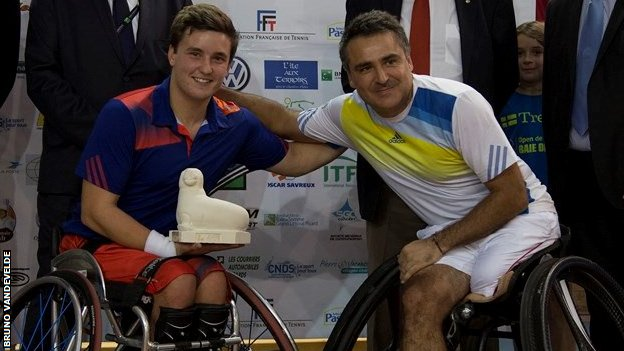 Gordon Reid and Stephane Houdet