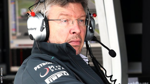 Ross Brawn of Mercedes