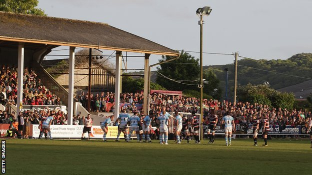 Cornish Pirates' Mennaye Field ground