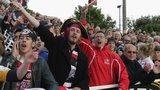 Cornish Pirates supporters