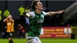 Hibs goalscorer Liam Craig