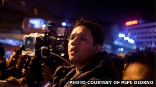 Philippine filmmaker Pepe Diokno