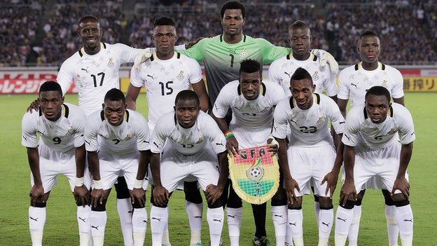 The Ghana football team