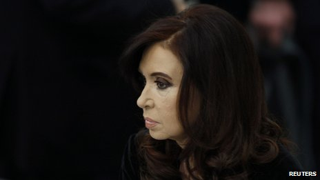 Cristina Fernandez de Kirchner at the 68th United Nations General Assembly  on 24 September, 2013