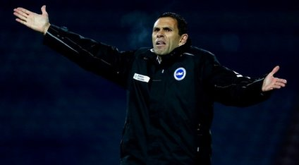 Poyet at Brighton