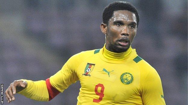 Chelsea and Cameroon's Samuel Eto'o