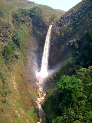 Congo waterfall