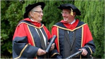 Seamus Mallon and David Trimble