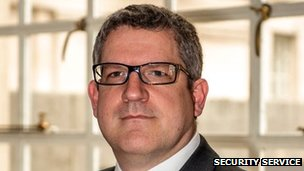 MI5 chief Andrew Parker