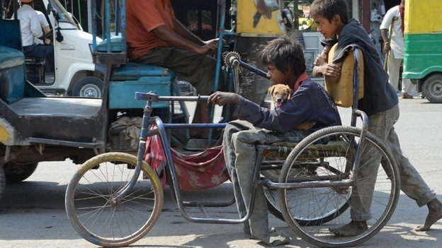 "Disabled people often face ""social barriers"" in getting jobs in India"