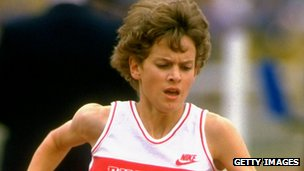 Distance runner Zola Budd