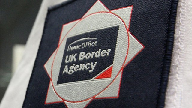 UK Border Agency badge