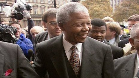 Scottish leaders praise Mandela...