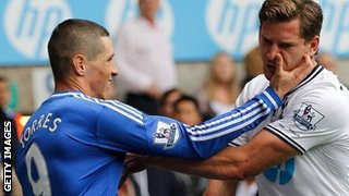 Fernando Torres (left) and Jan Vertonghen