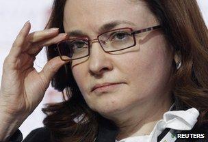 Russia's Elvira Nabiullina