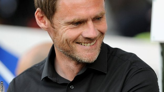Fleetwood Town manager Graham Alexander