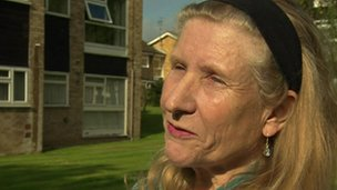 Margaret Thorburn lives under the Heathrow flight path
