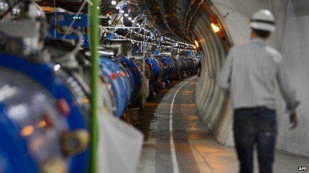 LHC shutdown