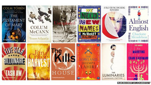 Man Booker 2013 longlist