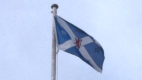 Stirling Council's flag