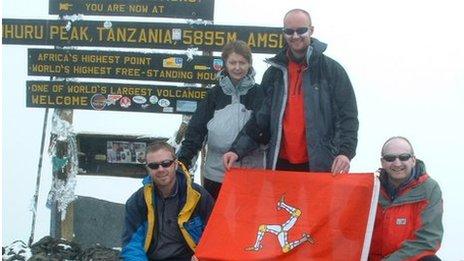 Kilimanjaro summit, Africa. February 2003.