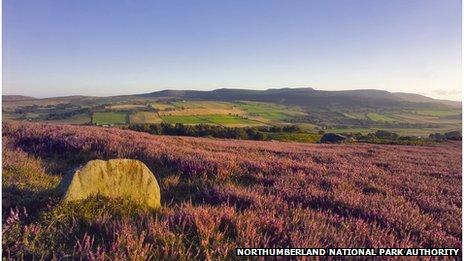 Debdon Hills, Northumberland