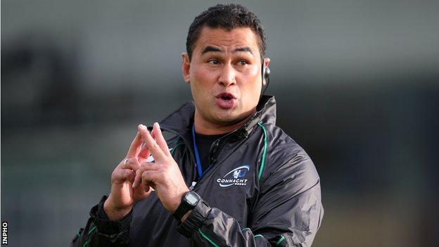 Connacht coach Pat Lam