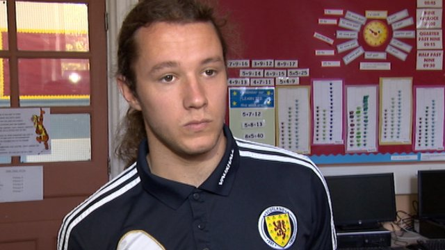 Scotland Under-21 midfielder Stevie May